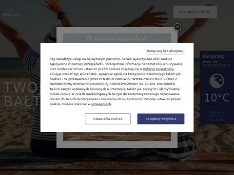 Ikar-plaza.pl hotel w Kołobrzegu