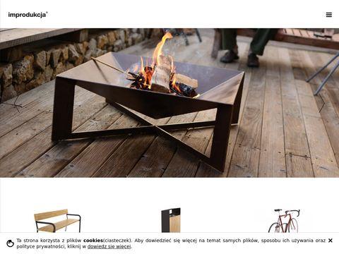 Improdukcja.pl ławki parkowe i miejskie