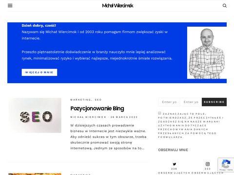 Internetmaker.pl pozycjonowanie stron