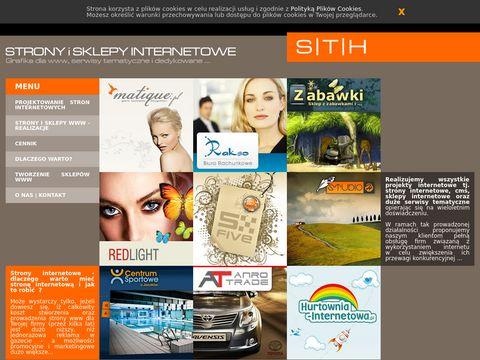 Internetowe-strony.com projektowanie