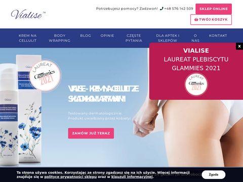 Vialise.pl skuteczna redukcja cellulit