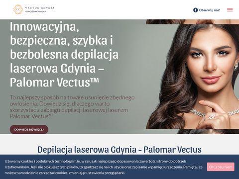 Vectusgdynia.pl depilacja laser Palomar