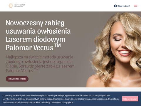 Vectussopot.pl depilacja laserowa