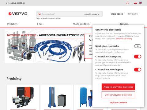Vervo.pl sprężarki powietrza