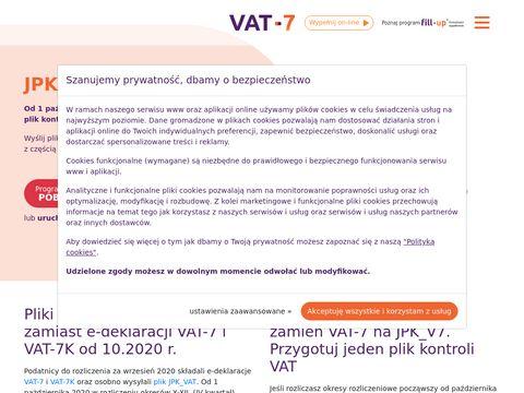 Vat-7.pl deklaracja