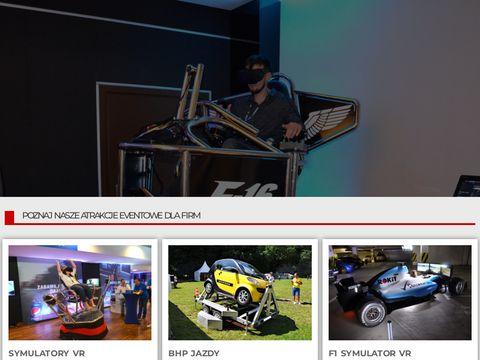 Vreal.pl atrakcje eventowe i symulatory VR