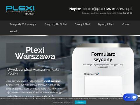 Plexiwarszawa.pl wyroby reklamowe
