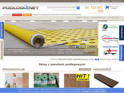 Podlogi24.net sklep - porządne, tanio
