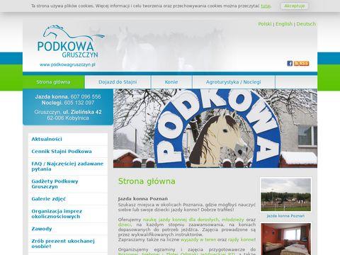 Podkowagruszczyn.pl Dla miłośników jazdy konnej