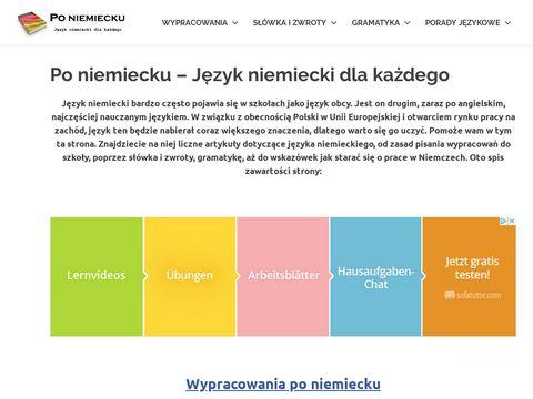 Poniemiecku.com