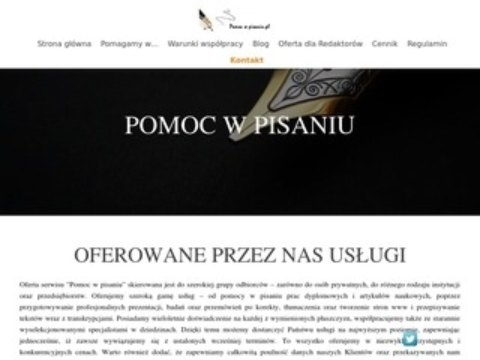 Pomocwpisaniu.pl
