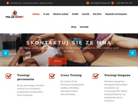 Polubsport.pl treningi personalne Warszawa