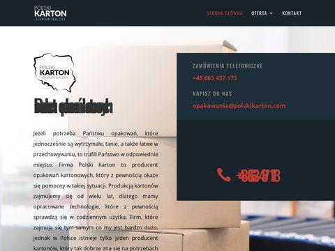 Polskikarton.com producent opakowań kartonowych