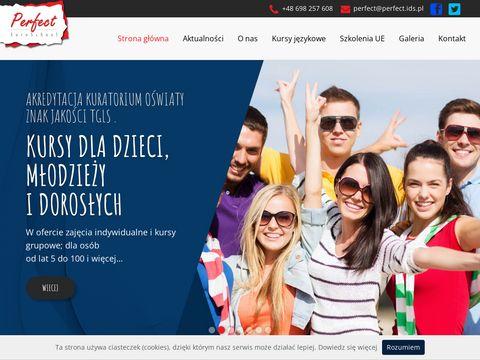 Perfect.ids.pl akademia językowa Białystok