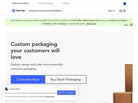 Packhelp.com pudełka na wymiar