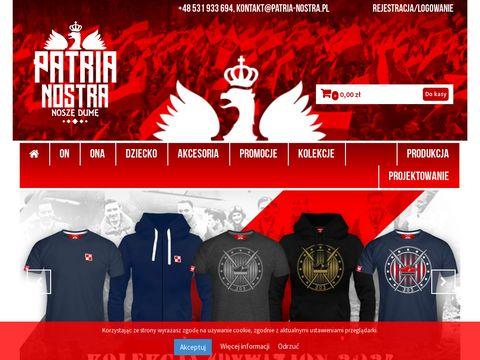 Patria-nostra.pl sklep z odzieżą patriotyczną