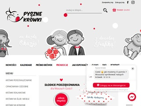 Pyszne-krowki.pl - słodycze na prezent