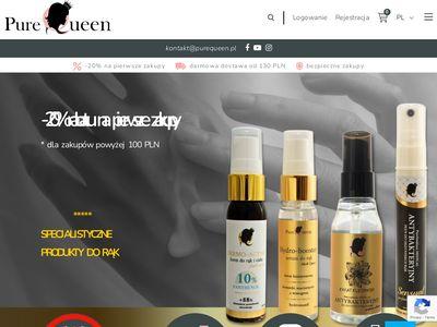 Purequeen.pl antybakteryjny żel