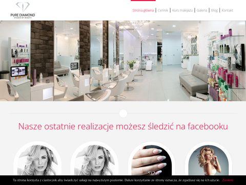 Pure Diamond - makijaż ślubny Kraków