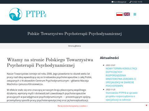 Ptppd.pl organizacja psychoterapii