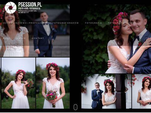 Psession.pl fotografia ślubna wieliczka