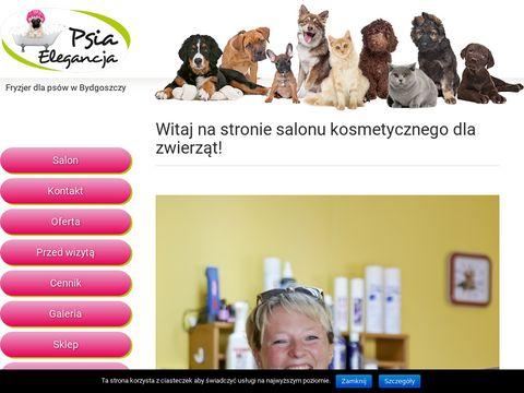 Psia Elegancja - fryzjer dla psów w Bydgoszczy