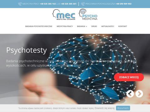 Psychomedycyna.pl testy na broń