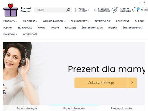 Prezentsimple.pl kubek dla budowlańca