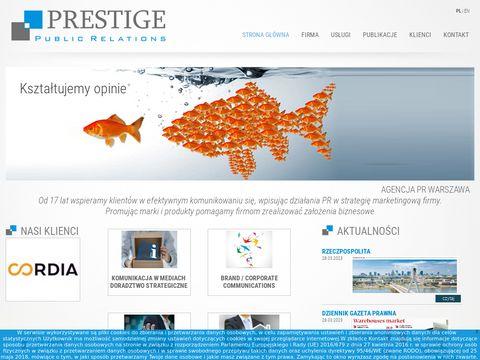 Prestige public relations
