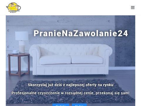 Pranienazawolanie24.pl czyszczenie autobusu