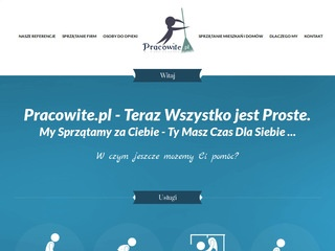 Pracowite.pl - rzetelne usługi porządkowe
