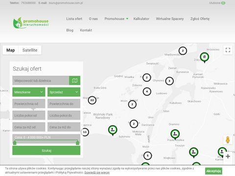 Promohouse.com.pl Miedzyzdroje nieruchomosci