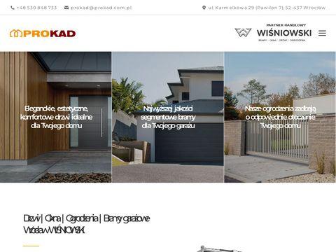 Prokad bramy drzwi i ogrodzenia we Wrocławiu