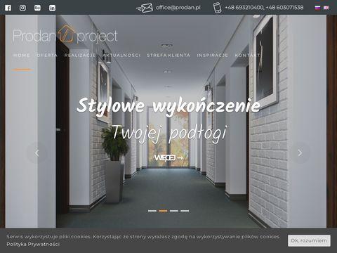 Prodanproject.com wewnętrzne drzwi przesuwne