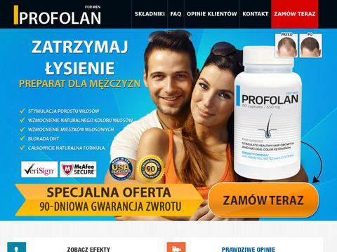 Profolan.pl - tabletki na łysienie