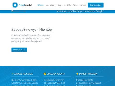 Proudmedia.eu - pozycjonowanie Bielsko