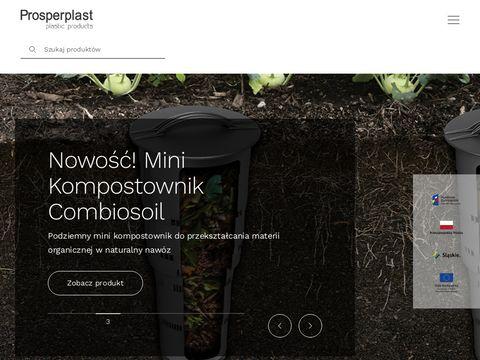 Prosperplast.pl pojemniki na deszczówkę
