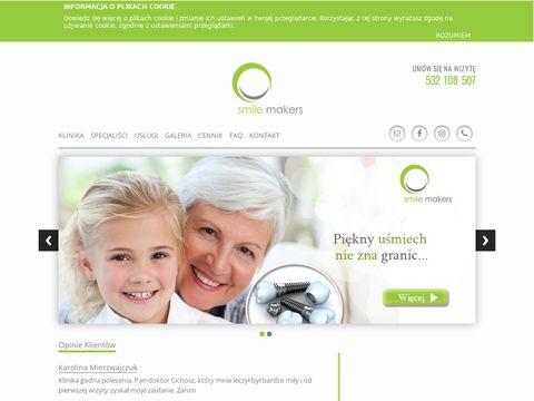 Smilemakers.com.pl stomatologia Wilanów