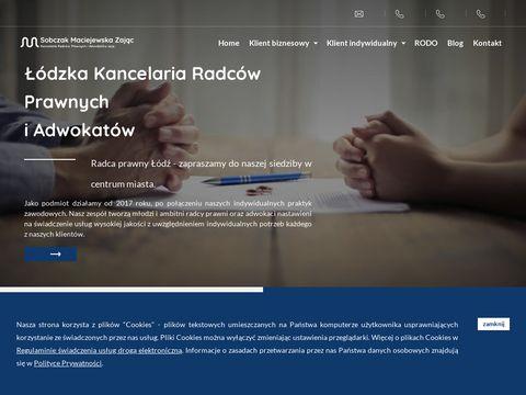 Sobczak-maciejewska.pl radca prawny