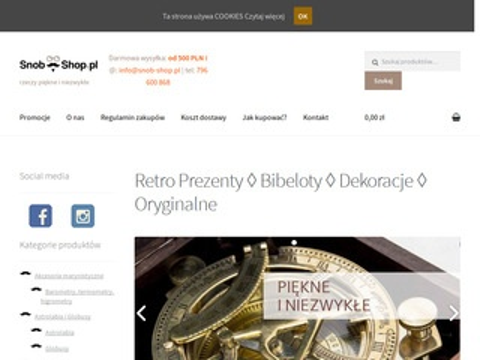 Snob-shop.pl - Astrolabia