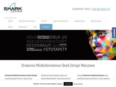 Sharkdesign.pl drukarnia Warszawa