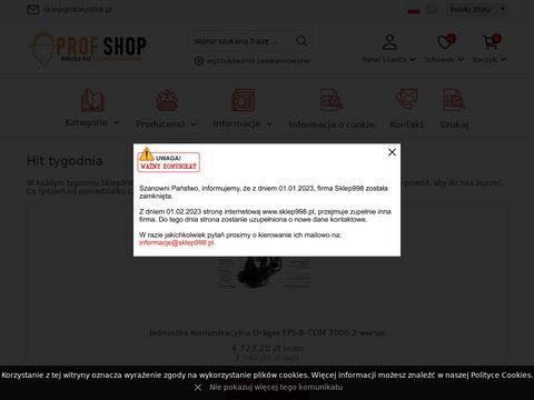 Sklep998.pl ubranie specjalistyczne