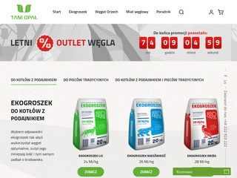 Sklep.taniopal.pl - sprzedaż węgla