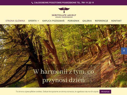 Skrzydlate-anioly.pl pogrzeb