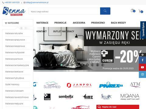 Sennamaterace.pl sklep z materacami