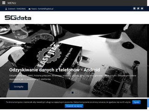 SGdata - outsourcing it i odzyskiwanie danych