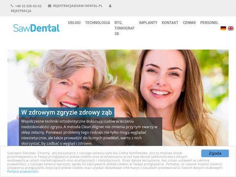 Saw-dental.pl dentysta NFZ Gliwice