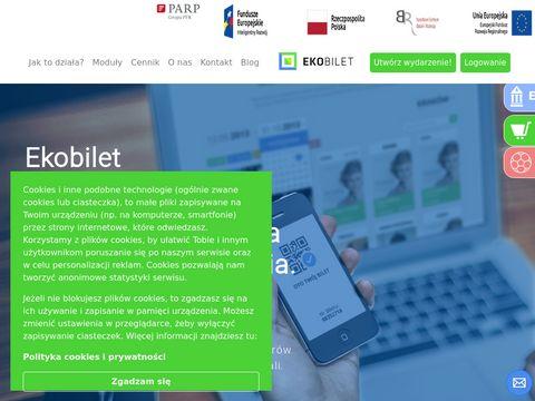 Ekobilet internetowy system sprzedaży biletów