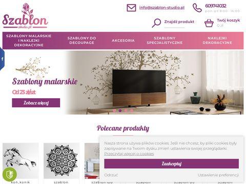Szablon-studio.pl sklep internetowy
