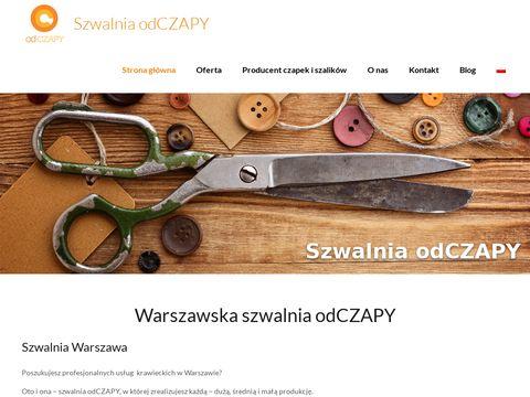 Szwalnia.odczapy.pl szycie bluz